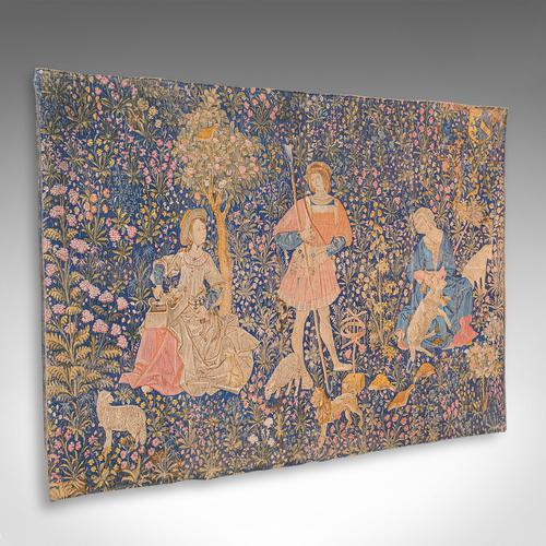 Large Antique Tapestry, French, Needlepoint, Decorative Wall Covering c.1920 (1 of 12)