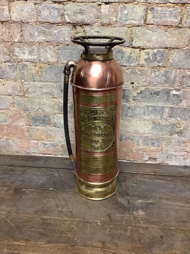 Unique American Brass Extinguisher (1 of 3)
