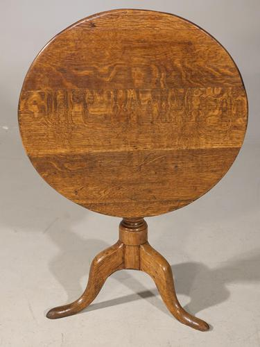 Good George III Period Mahogany Tilt Table (1 of 5)