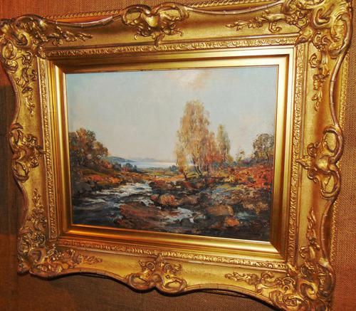 Oil Painting Arran by Archibald Kay. Dated 1927 (1 of 7)