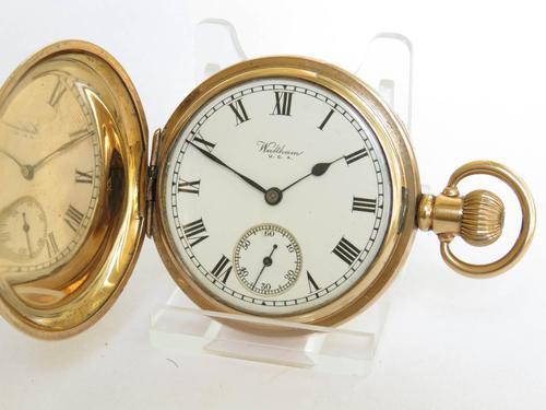 Waltham Full Hunter Pocket Watch, 1926 (1 of 5)