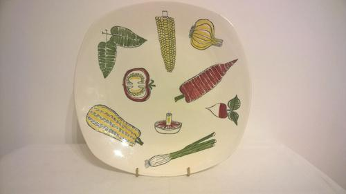 "Midwinter, ""Salad Ware"" Plate, ""Terence Conran"" (1 of 3)"