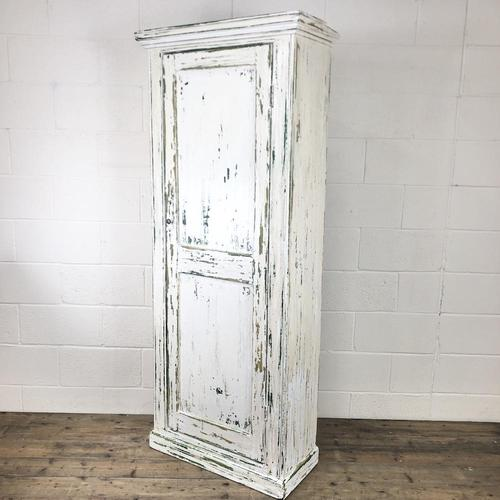 Distressed Painted Antique Pine Cupboard (1 of 10)