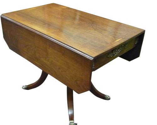 Beautiful Regency Inlaid Rosewood Pembroke Table c.1820 (1 of 3)