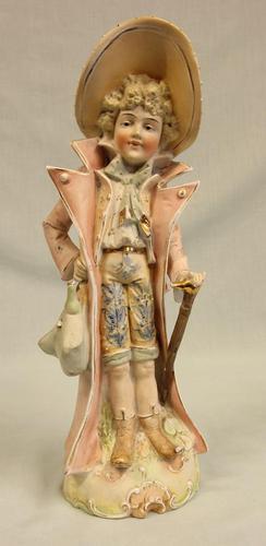 Antique Bisque Figurine of Gentleman (1 of 8)