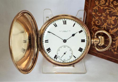 1920s Thomas Russell Full Hunter Pocket Watch (1 of 5)