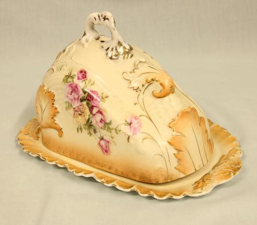 Antique Shaped Cheese Dish (1 of 6)