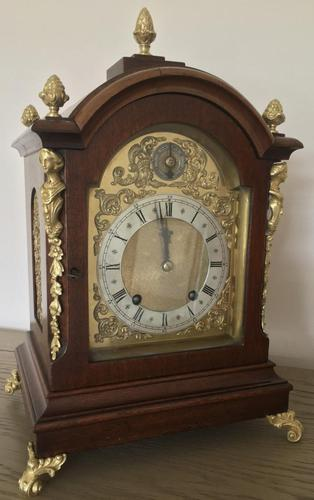 Antique Eight Day Large W&h 'ting-tang' Bracket Clock (1 of 8)