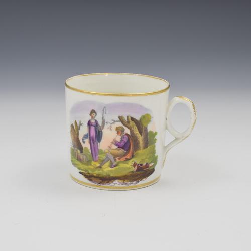 Regency New Hall Bone China Coffee Can c.1815 (1 of 6)