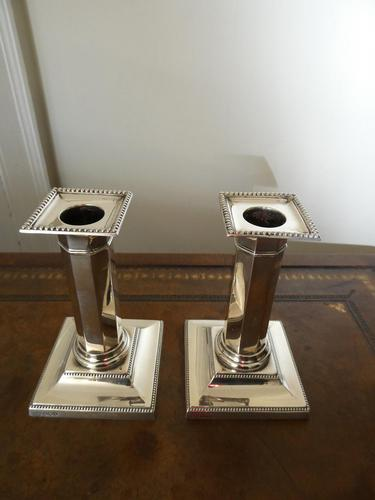 Pair of Silver Candlesticks (1 of 10)