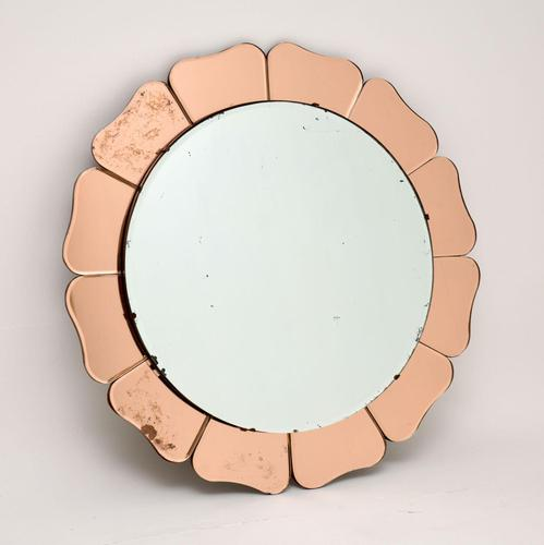 1920's Vintage Art Deco Mirror (1 of 6)