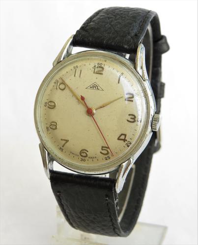 Gents 1950s wrist watch from H. Rüttimann, Lucerne (1 of 4)