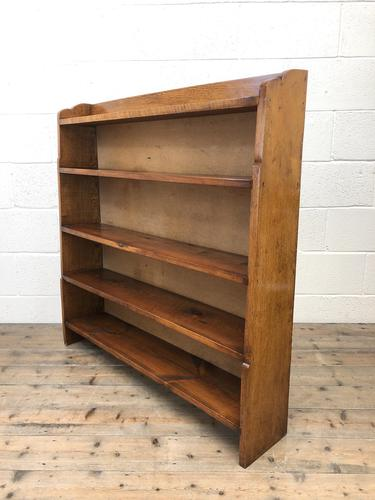 Early 20th Century Antique Oak Bookcase (1 of 9)