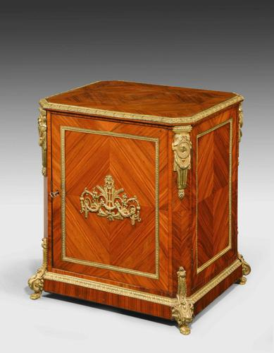 Late 19th Century Elaborate Gilt Bronze Dwarf Cabinet (1 of 5)