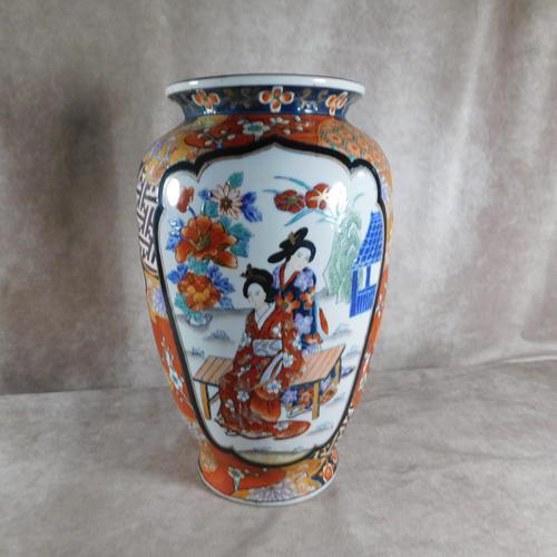19th Century Ming Zhi - 明志 - Akira Kokorozashi Vase (1 of 6)