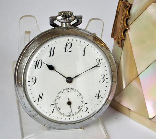 1930s Art Deco pocket watch. (1 of 5)