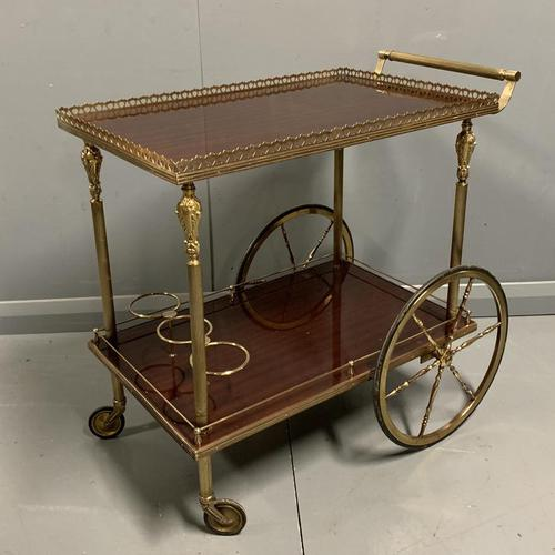 French 1930's Drinks Trolley (1 of 7)
