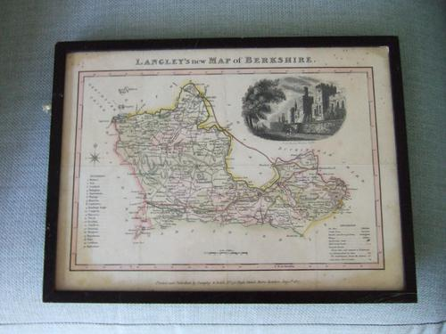 Langley's New Map of Berkshire 1817 (1 of 4)