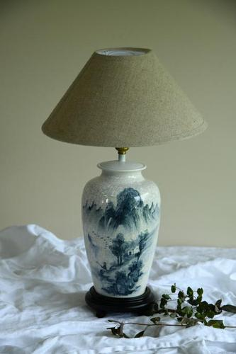 Oriental Lamp Blue & White (1 of 11)