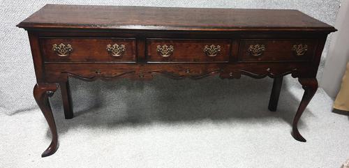 Solid oak Dresser Base (1 of 10)