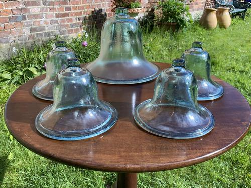 Hand Blown Victorian Glass Cloches (1 of 6)
