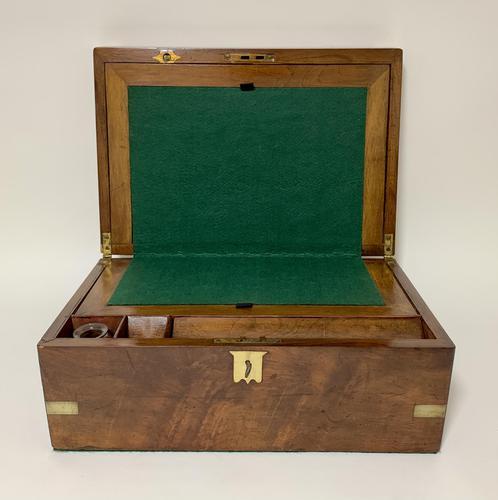 Victorian Walnut Writing Slope Box (1 of 15)