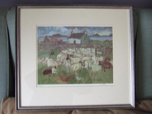 Josephine Trotter: limited edition print of Pabay Island, Scotland (1 of 4)