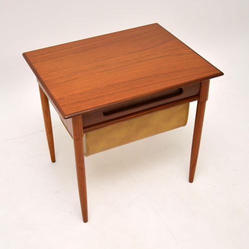 1960's Teak Vintage Side Table by Karl Edvard Korseth (1 of 10)