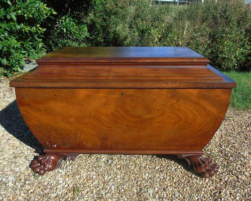 Large Good Quality Mahogany Cellarette Robsons of Newcastle (1 of 11)