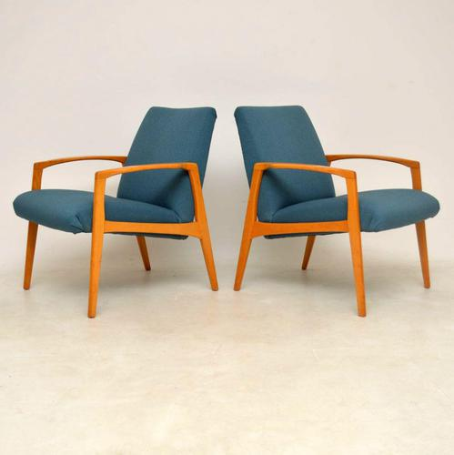 1960's Pair of Swedish  Vintage Armchairs (1 of 12)