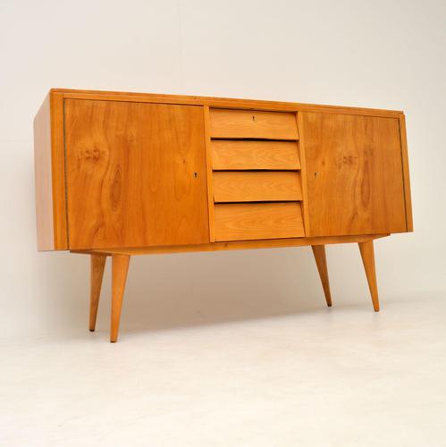 Satin Birch Sideboard Vintage 1950's (1 of 24)