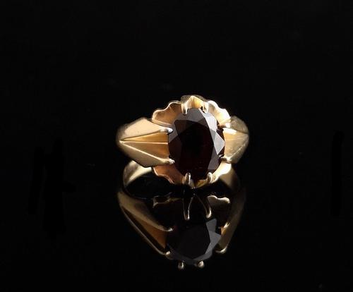 Vintage Garnet Dress Ring, 9ct Gold (1 of 16)