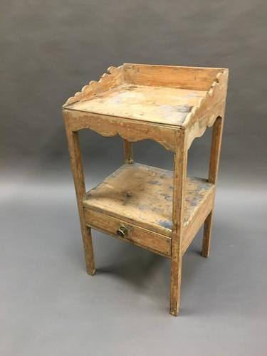 George III Pine Side Table (1 of 13)
