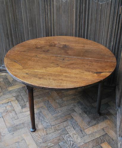 Georgian Oak Cricket Coffee Table (1 of 6)