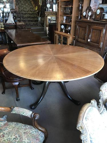 Very Large Circular Victorian Dining Table (1 of 8)