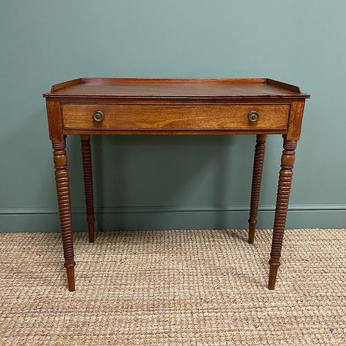 Regency Mahogany Antique Side Table (1 of 6)