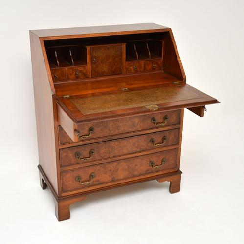 Antique Burr Walnut  Writing  Bureau (1 of 12)