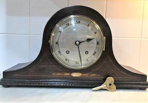 1931 English 'Napoleon Hat' striking Mantle Clock by Empire. (1 of 7)