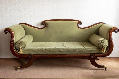 Fine Mahogany Regency Period Sofa (1 of 5)