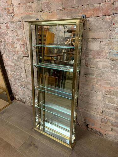 1920s French Brass Cabinet (1 of 7)