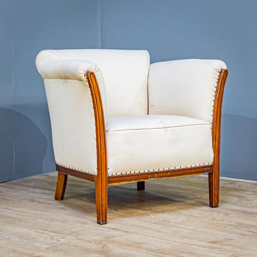 Mahogany Easy Armchair (1 of 8)