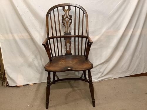 High Back  Elm / Ash Windsor Carver Chair (1 of 4)