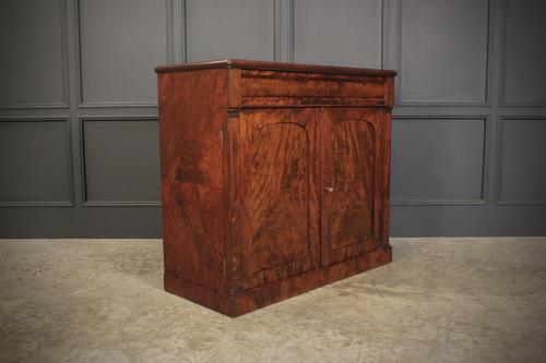 Victorian Fiddleback Mahogany Chiffonier Cabinet (1 of 17)