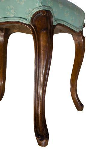 Mahogany Dressing Table Stool 19th Century (1 of 5)
