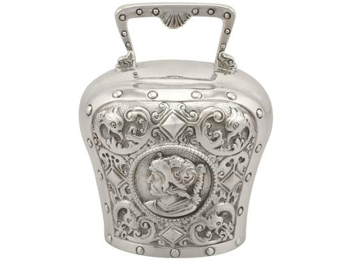 Sterling Silver Table Bell - Antique Victorian 1897 (1 of 12)