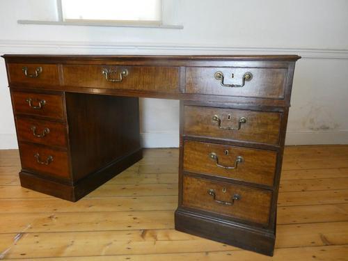 Neat 18th Century Partners Desk (1 of 15)