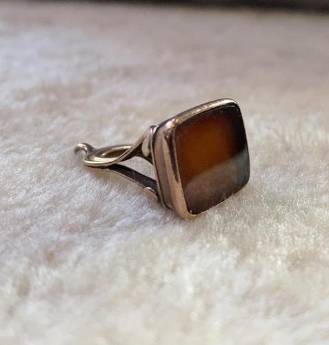 Victorian Rose Gold Fob (1 of 5)