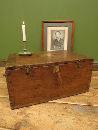 Antique Oak Chest, Early 19th Century Storage Chest for Weights, Lockable (1 of 21)