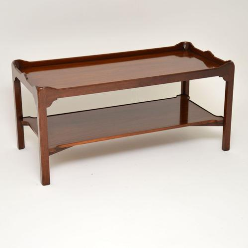 Chippendale Style Mahogany Coffee Table c.1930 (1 of 7)
