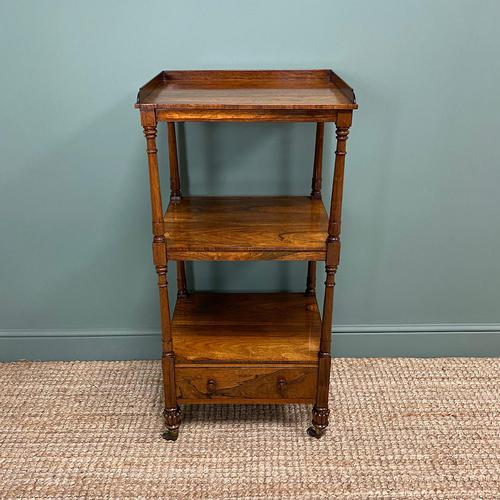 Spectacular Regency Gillows Rosewood Antique Whatnot (1 of 7)
